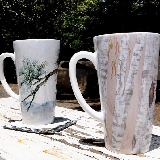 DONNA'S ETSY SHOP - Are your walls full up, but you're wanting some of my artwork in your home? Over at my Etsy shop I've got mugs, coaster, tote bags and a few more special items made specially with my artwork. Visit the shop!