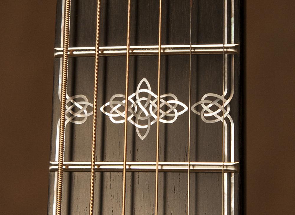 Custom Celtic Knot Inlays
