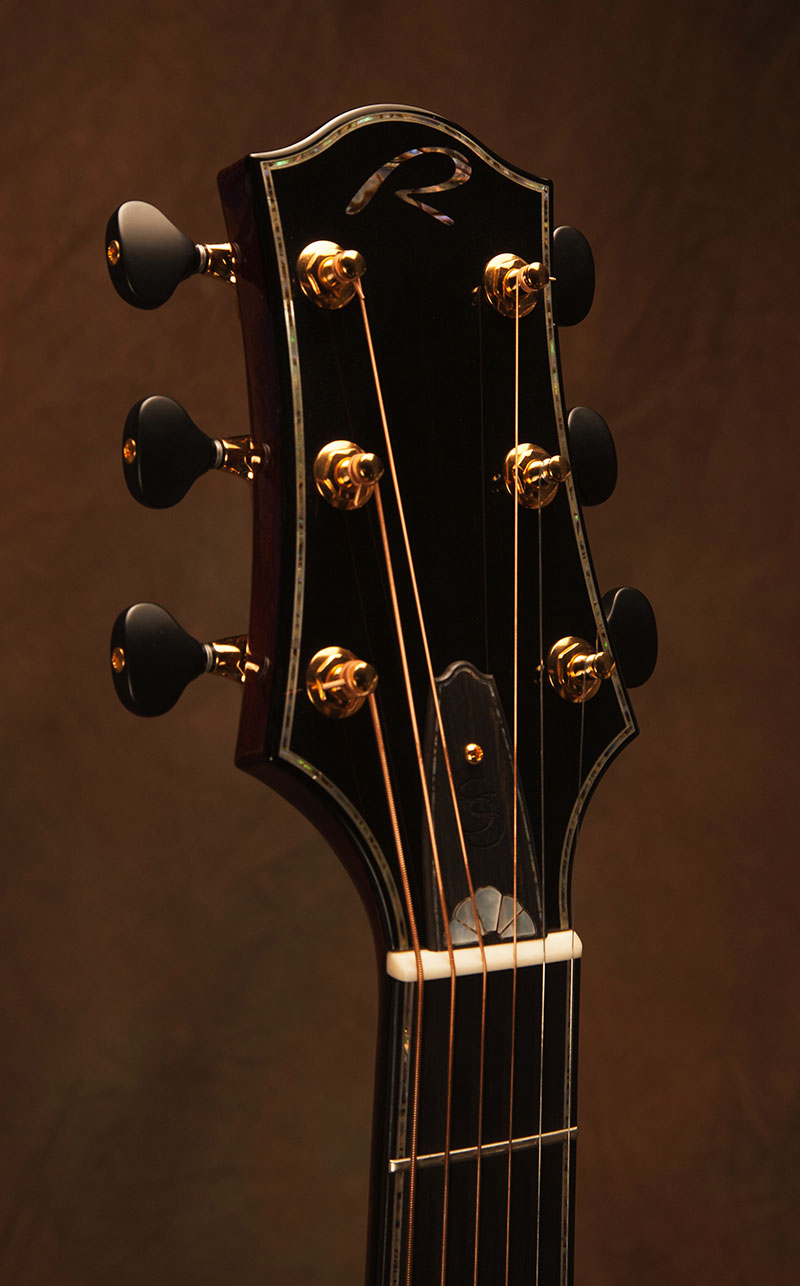 Inlaid Truss Rod Cover