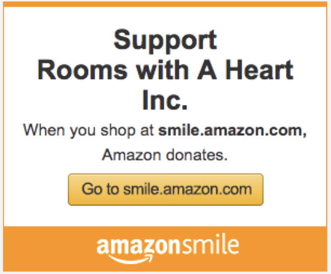 There is no cost to you when you shop!  Amazon donates a portion of their profits to charity.