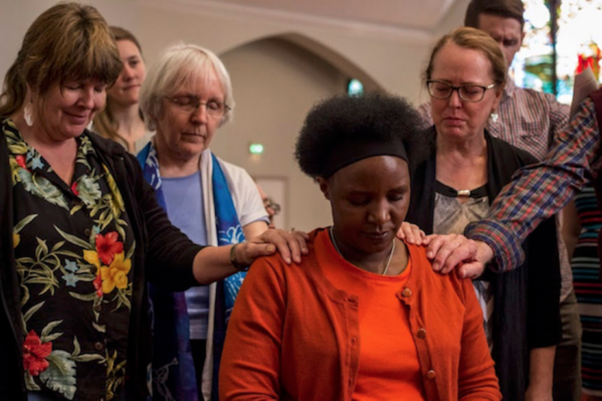 Blessing of The Epworth Project Abbot, Ceciliah Igweta - May 2015