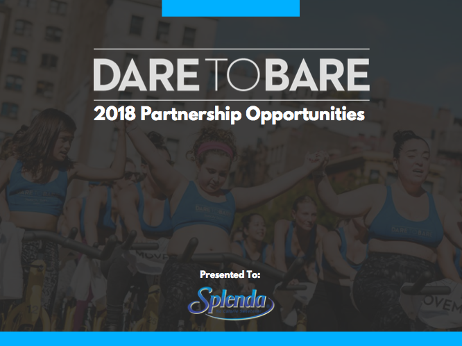 Digital sponsorship presentations ,   Dare To BAre         download here