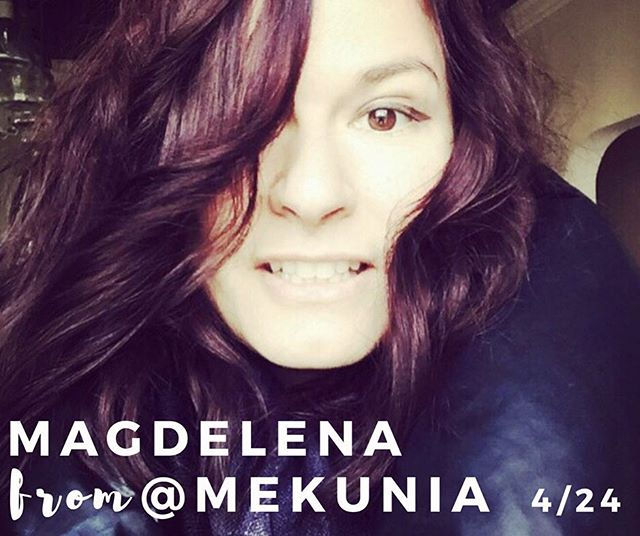 Wow, only a couple spots left for our 4/24 Leather Clutches Session with Magdalena from @mekunia! You must all be as excited as us to hang out with this cool lady! 😎