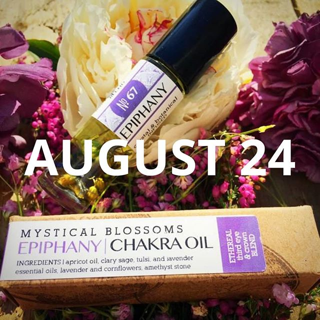 🌙✨ Only 3 spots left for this Saturday's Aroma Therapy Roller Ball Session with @mysticalblossoms at their beautiful cottage in Medford NJ | 8/24 | 1pm -2:30pm! In this session, we will be selecting essential oils, crystals, and botanicals to make our very own oil roller ball. Mystical Blossoms is making complimentary tea for us (it's amazing!) and offering 15% off store items to attendees! We are super excited about this one because we love their wonderful essential oils! If you didn't see our email invite, head to our website to register. Link in bio! ✨🌙
