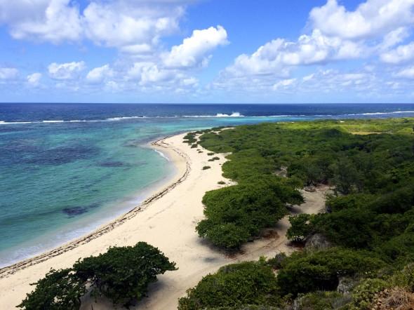Two Foot Bay, Barbuda. (Photo courtesy Waitt Institute)