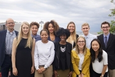 Sea Youth Rise Up    Bill Mott, Danni Washington, Sean Russell   The  2017 Sea Youth Rise Up  delegation unites an outstanding group of seven young conservation leaders working to improve the health of the ocean and empower others to do the same. Taking action to address diverse marine conservation challenges, these young people remind us of the important role youth leadership plays in the ocean conservation field and inspire all of us to renew our dedication to protecting our blue planet.