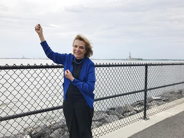 Our lady liberty of the Ocean - @sylviaearle. #saveourocean
