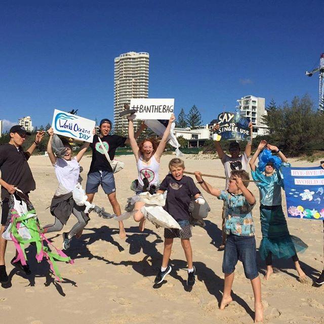 Looks like @byebyeplasticbags satellite Ocean March in Australia was a huge success! #saveourocean