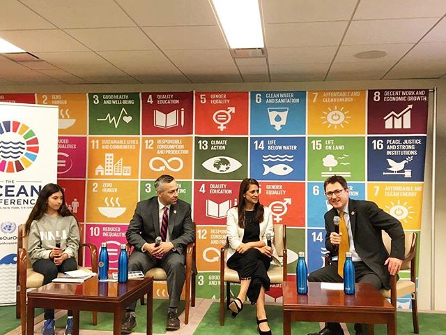 Founder of the World Ocean Festival, Natalia Vega-Berry, took the stage at the SDG Media Zone at the Ocean Conference for the 'Cities, Climate Change & The Ocean' panel.  https://twitter.com/SDGMediaZone/status/872098849199882240