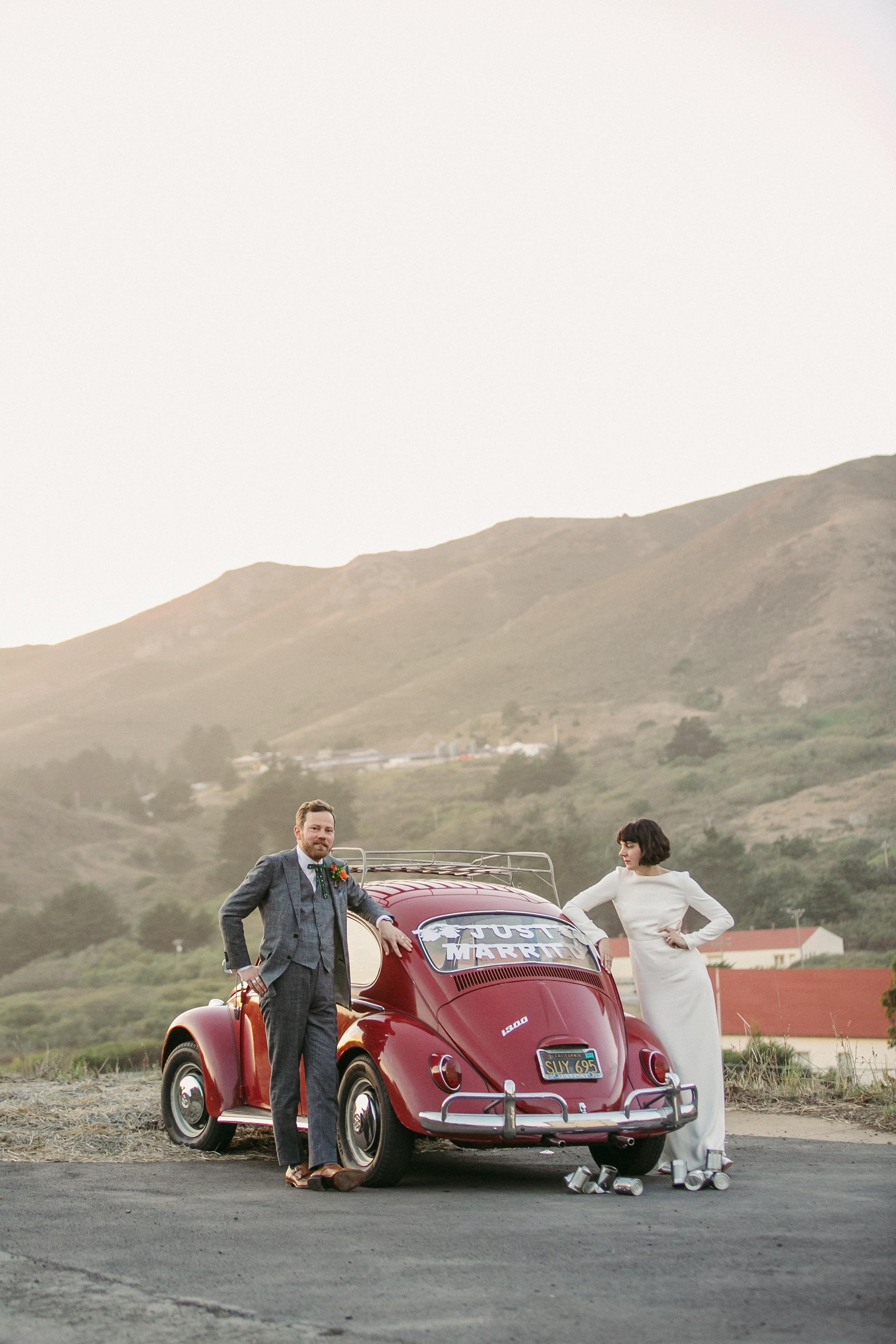 San Francisco Marin Headlands Wedding