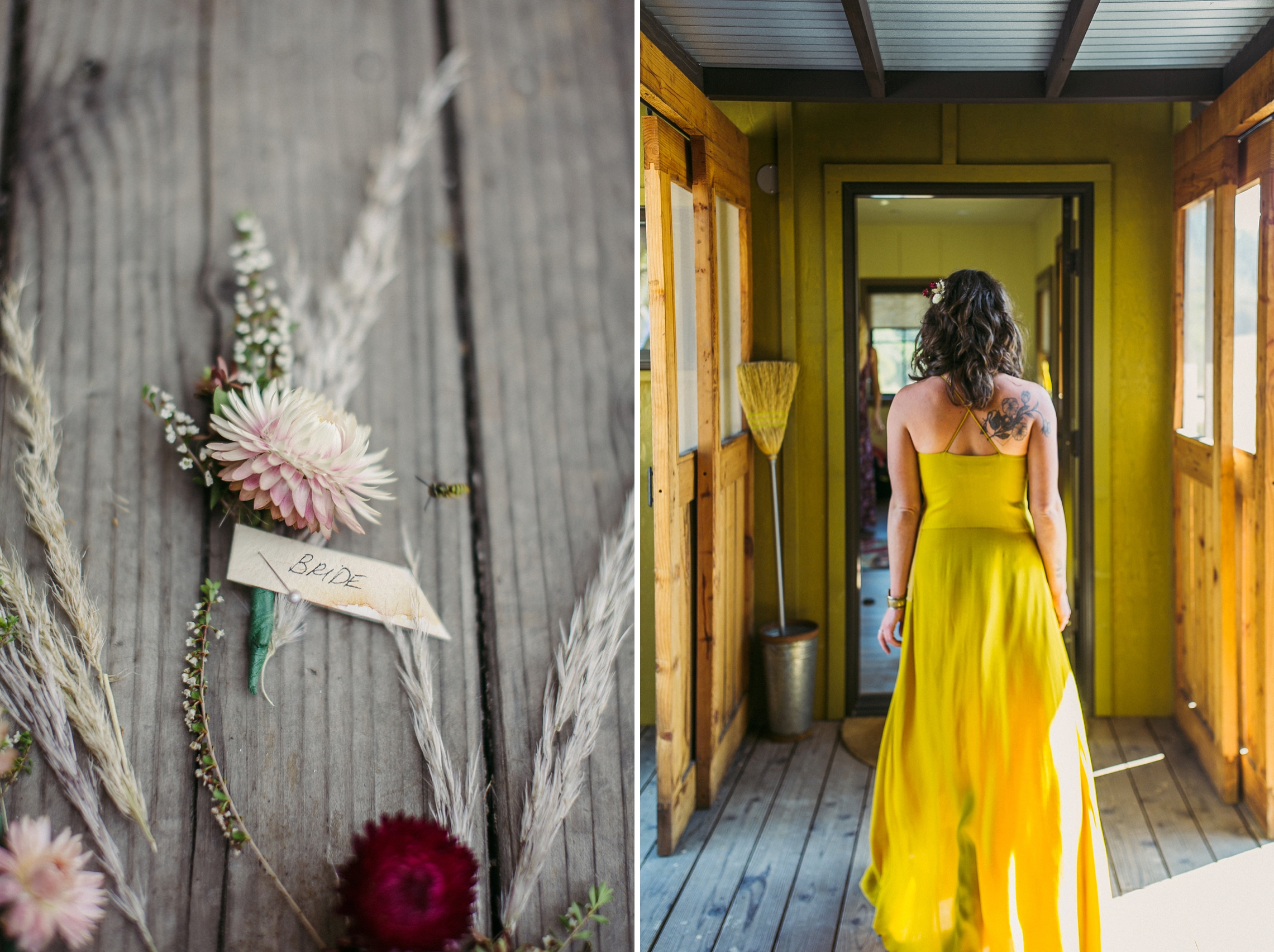 Bohemian Toll House Boonville California Wedding