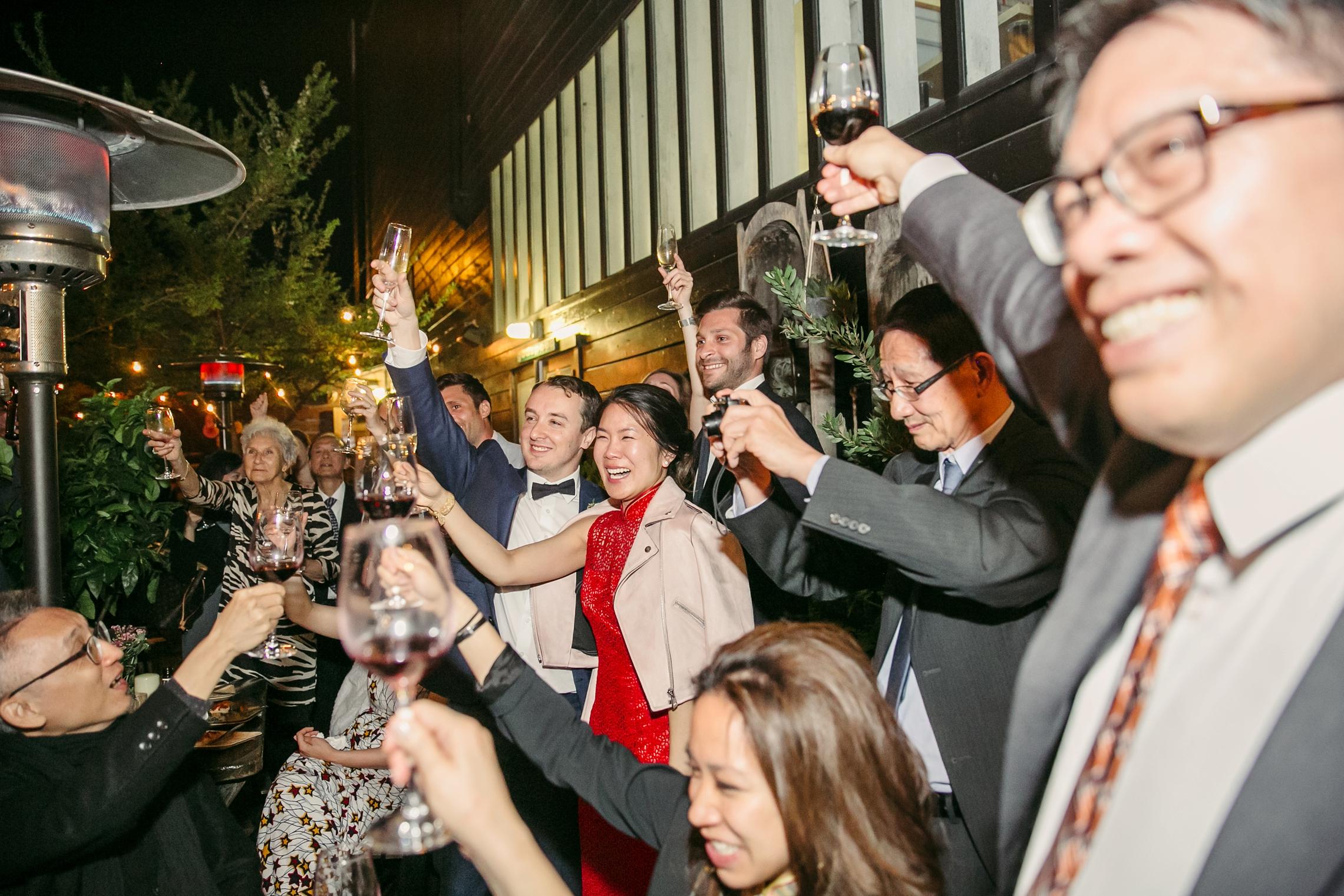 San Francisco Stable Cafe Wedding