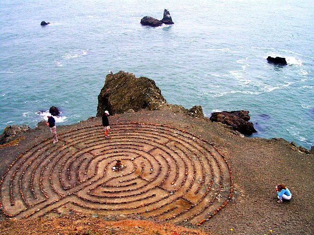 Land's End Labyrinth    (Been wanting to check this out)