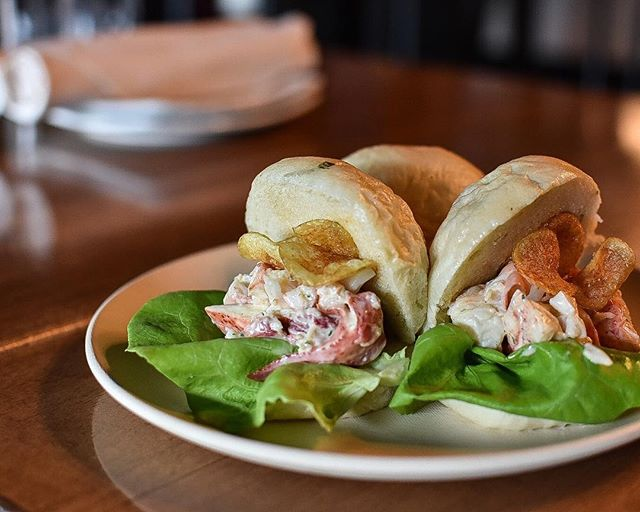 We've made an executive decision. . We've decided that Lobster Roll Steam Buns were in everybody's best interest. . You're welcome. . Sourdough Bao | Brown Butter Tarragon Aioli | Bibb Lettuce | House Fingerling Chips