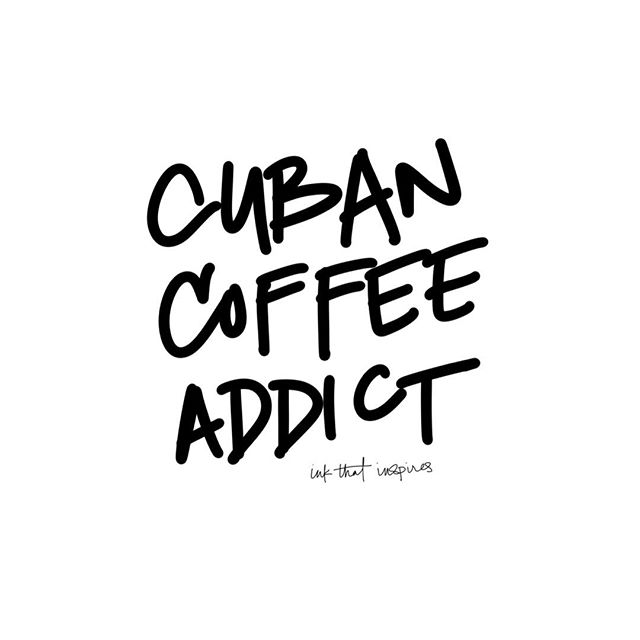 | How many Cuban Coffee Addicts do we have out there? Tag someone you share your coffee moments with... |  #EspressoThenLife #Coffee #Espresso #CoffeeMoments #CubanCoffee #Life #Cafe #Miami #MiamiLiving #Brickell #Wynwood #MiamiBeach #SouthBeach #California #Atlanta #PopUpBar #Shopify #WhereCubanCoffeeLoversUnite #cubancoffee #espumita #cafecito #espressoaddict #coffeeaddict #caffeine #coffeelover #coffeebreak #☕️