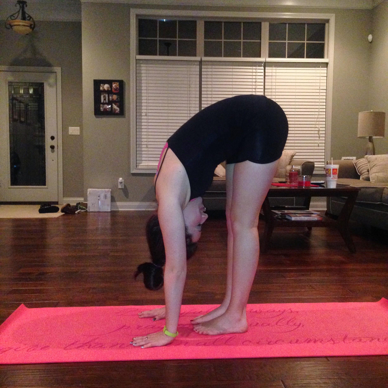 first yoga pic forward fold.JPG