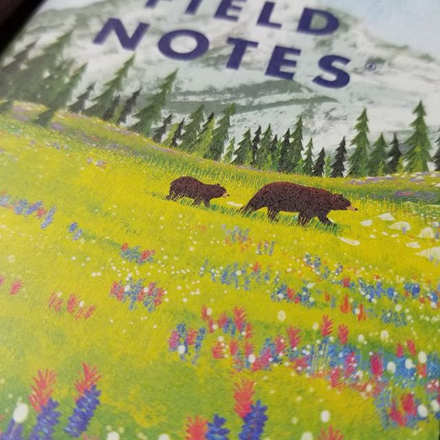 My favorite of the bunch. @fieldnotesbrand #stationery #notebooks #fieldnotes