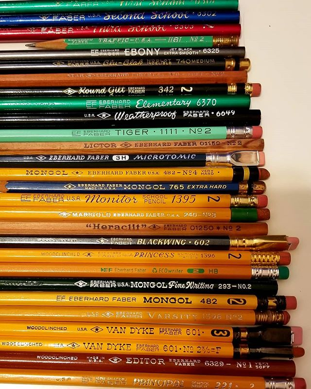 211s and 24s ain't got nothing on these: #stationery #pencils #eberhardfaber