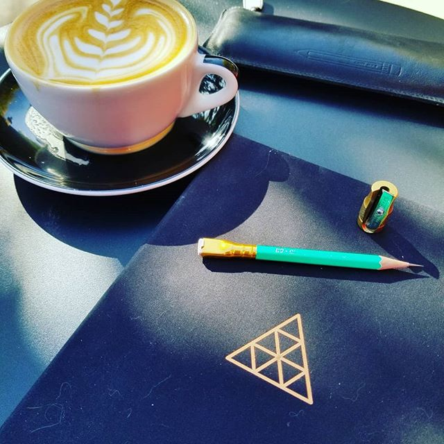 Nice fall afternoon! @baronfig @palominobrands #stationery #pencils #journaling