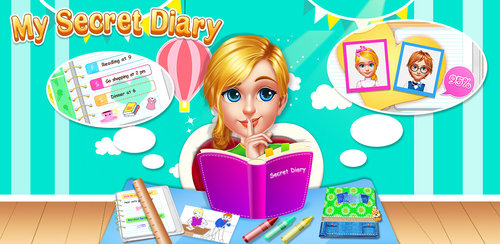 My Secret Diary - Dream Life  Dear diary, today was a great day. These are the types of entries in your sketch book that will help you to keep track of your life and cherish all the important moments in your life.