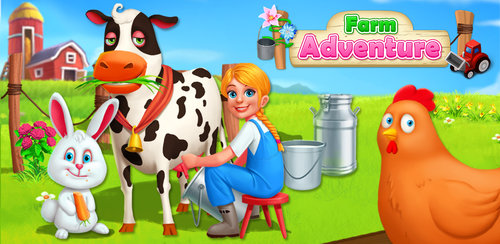 Kids Fun Farm Adventure!  Join us for a fun farming experience! Run your own farm for free! Take care of the animals - peel some carrots and feed the rabbits; collect the eggs laid by the chickens;