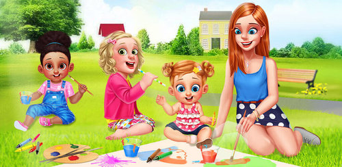 Babysitter Fashion SPA Salon  As a babysitter, you get to play and take care of so many cute little babies and get paid for it. Why not have a little me time before you head off to your next babysitting gig?