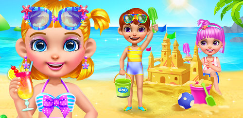 Beach Dress Up 2 - Summer Girl  Take the pretty girl to the spa for some fun skin treatments. Exfoliate, wash and moisturize her skin. Trim up her eyebrows and give her a cucumber mask to remove impurities.
