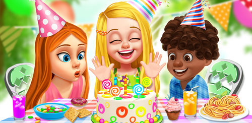 Girls Birthday Party Design  Go to the spa for a fun, kid-themed spa. Have a cute facial and play with lots of grown up type moisturizers and face cleansers for your party. Then you can head to the salon to try on lots of different makeup looks.