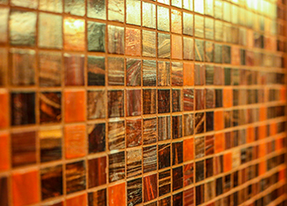 tile up close