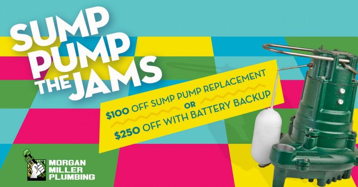 Sump Pump Jams