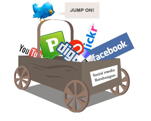social media bandwago