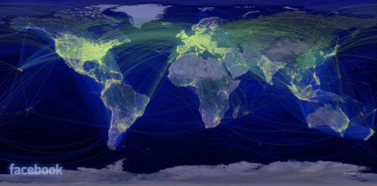 Facebook  Map 1