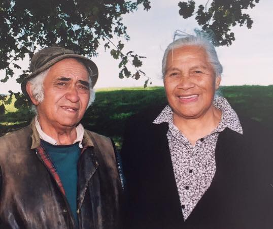 Reuben and Phyllis Te Huia (Shannon's Grandparents)