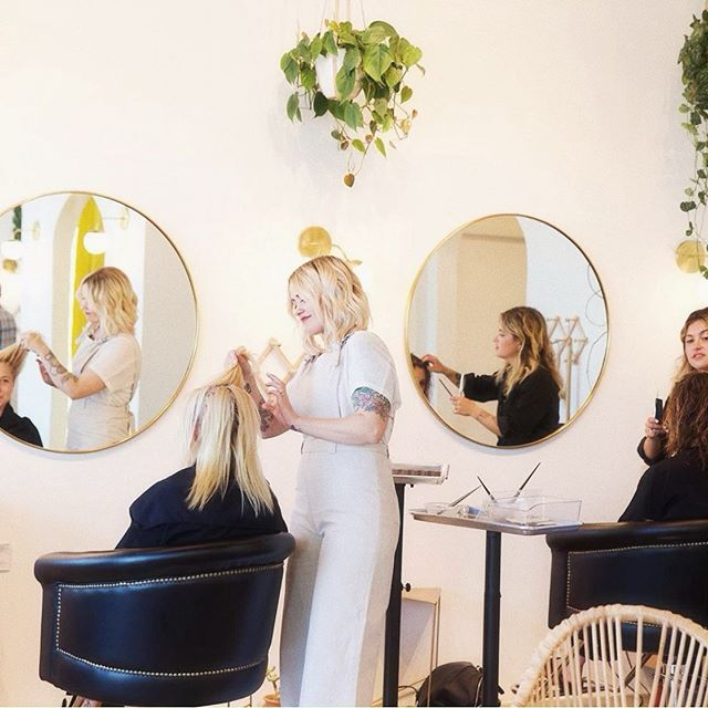 """We are HIRING! We are growing again and excited to add two new positions to our crew!  We have an opening for a Los Angeles based stylist + a part time receptionist to join our fantastic team of #harborhoneys.  Is it you or someone you know?  Follow the link in our bio and jump in the """"work with us"""" page."""