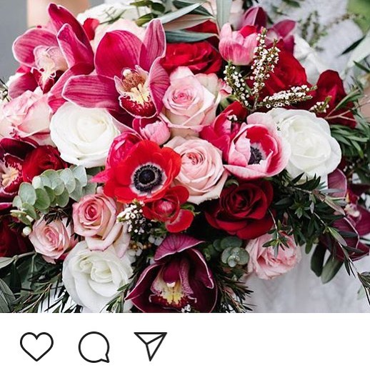 Close up of S's beautiful blooms repost - 📷 @charmainevisuals #weddingflowers #melbourneweddingflowers #anemones #bridalbouquet #toembellish
