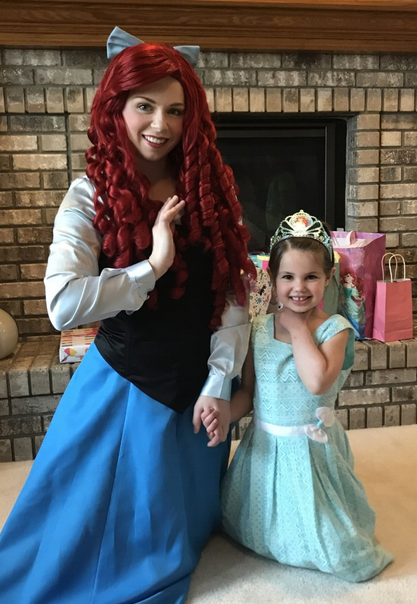 """The customer service I received from Magical Moments was top-notch! I booked 'Ariel' from the Little Mermaid for my granddaughter's 5th birthday party. The costume was on-point, her interaction with the children was fun, kind and caring. We communicated easily via email and my questions/concerns were always answered in a timely manner. Magical Moments was very accommodating and made the event extra special! I highly recommend this company!""   - Lori S."