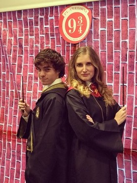 Wizarding Students - Available in a red or green student and/or as a Male Student.Book now
