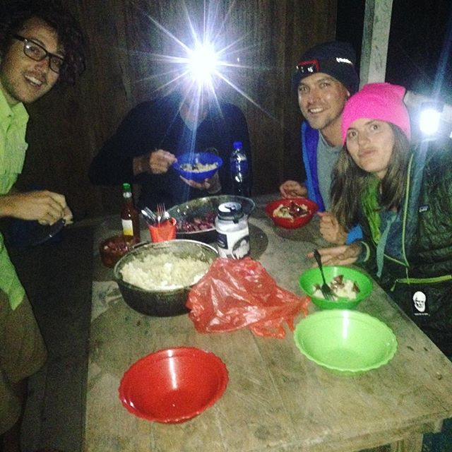 Family meal with the best trailfood discovered on the #transpanamatrail (besides Gomets of course). Tasajo! As preferred by our guides from the #dariengap Remember, as wisely spoken by @elissadickson it's always tasabros before tasajos!