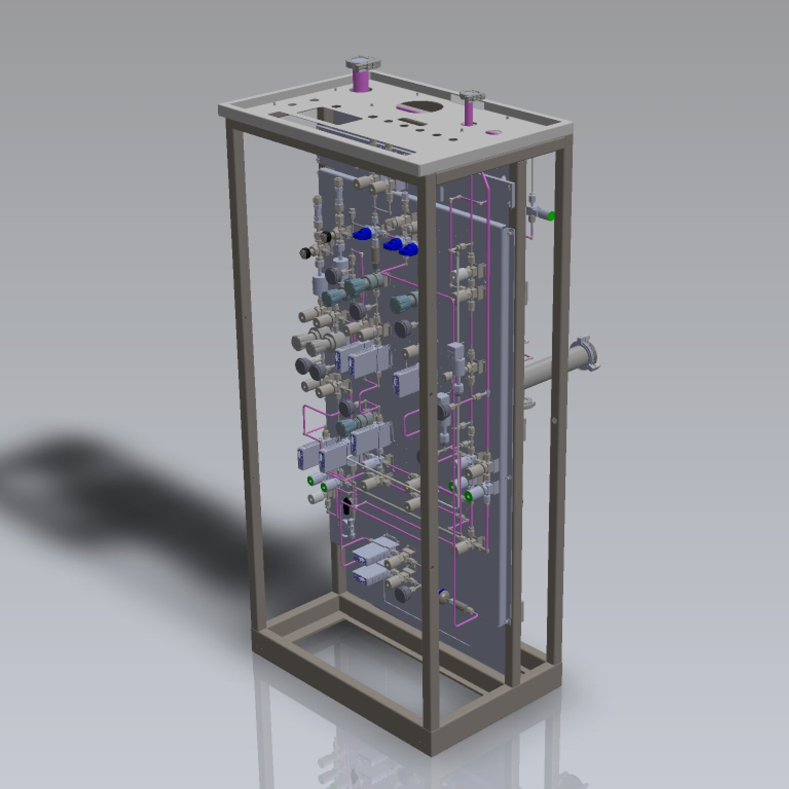 CAD Designed Gas Panels - •Computer Designed•Completely Replaces existing panel•ROI Effective solution to old panels•Fully Customizable