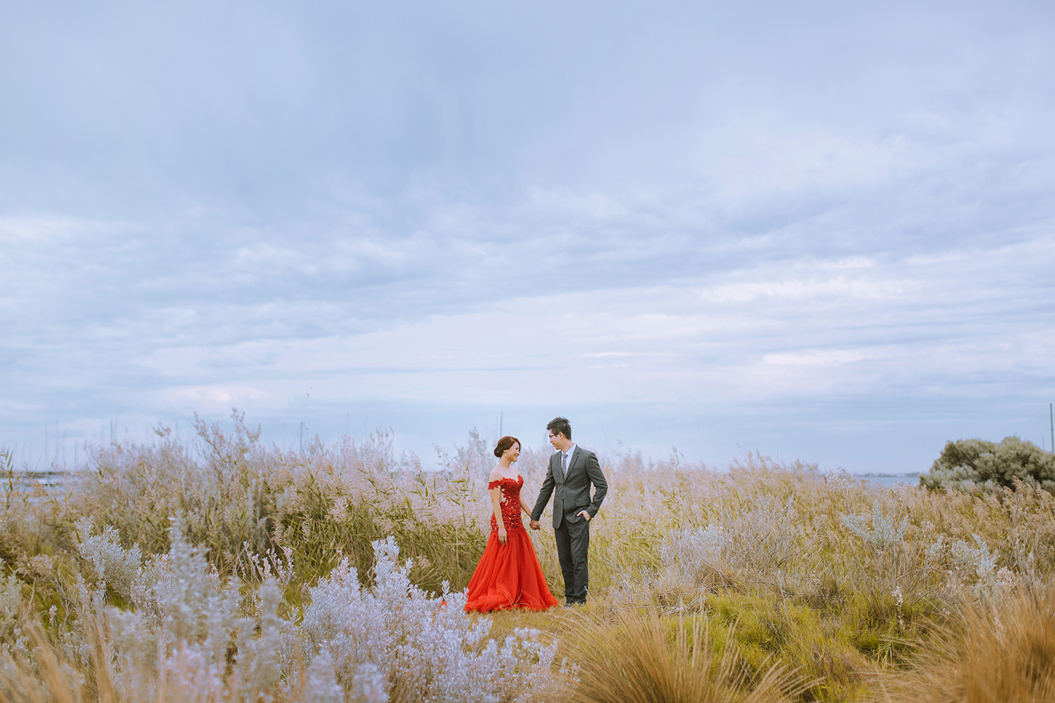 Destination Pre-wedding Photography in Melbourne, Australia