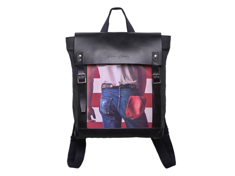 Mens Canvas Backpack