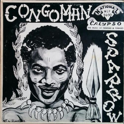 congoman vinyl cover