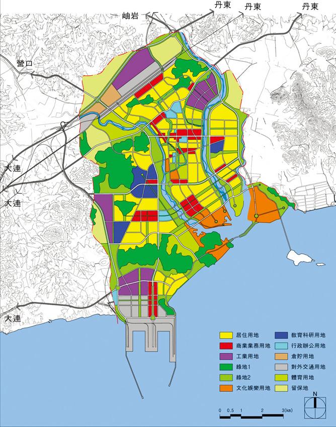 2020년 장하도시 발전구상, 2001년