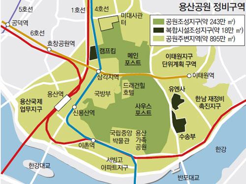 용산 복합시설 지구단위계획, 2015년