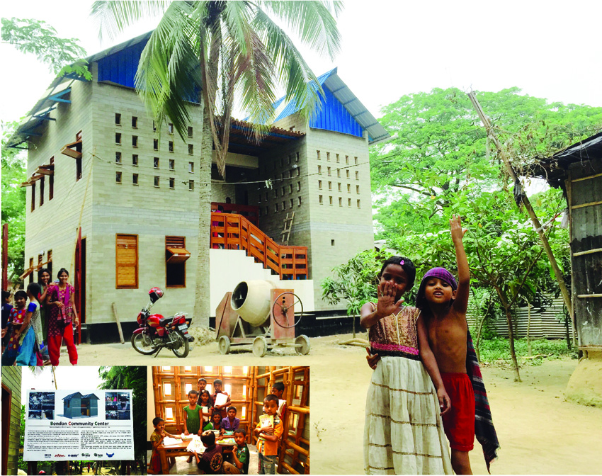 방글라데시 다카 마이멘싱 커뮤니티센터 건립, 2015년