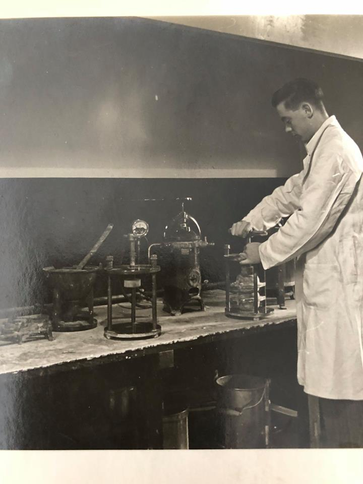 Richard Martin, Working in the lab 1960's