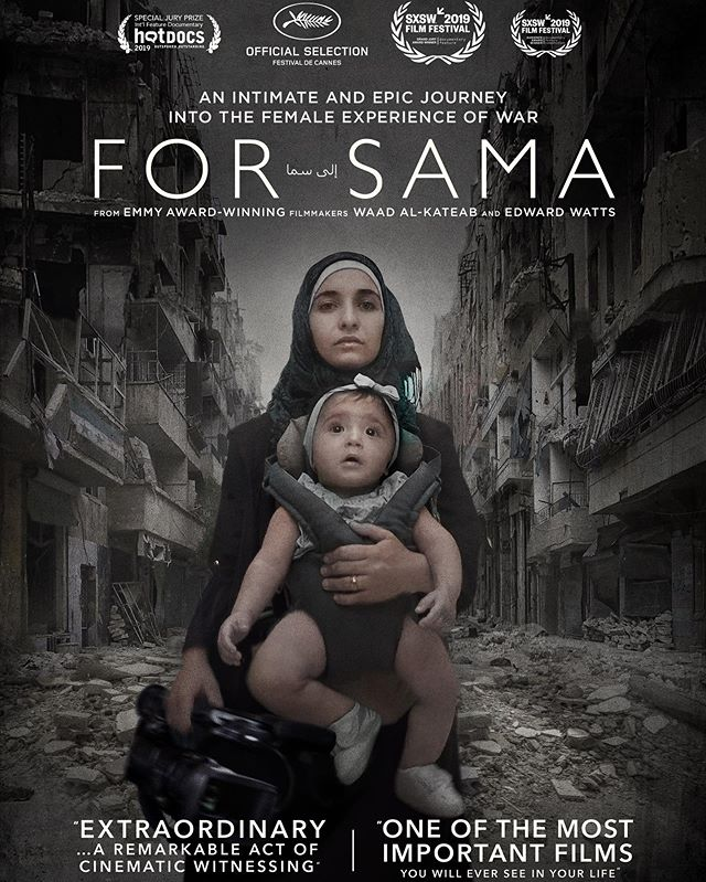 FREE CAPTIONED FILM SCREENING  @jayucanada is screening #Forsamu Thursday July 4th 7PM. ASL interpreters will be at this film screening and the film will be captioned. Check out our Facebook page for more information and tickets. #Aleppo #SocialJustice #NoJusticeNoPeace #JayU