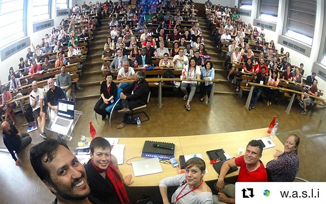 83 countries represented at the World Association of Sign Language Interpreters conference. I have never been more proud to represent 🇨🇦. ♥️🤟🏽🤟🏻🤟🤟🏿 #wasliparis2019 @w.a.s.l.i