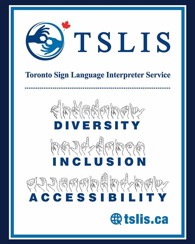This is our focus every single day. We are a BIPOC run organization that does the best we can for the Deaf community and our city of #Toronto. ❤️🧡💛💚💙💜🖤🤟🏿🤟🏻🤟🏾🤟🏼🤟🏽#diversity #inclusion #accessibility #aoda #billc81 graphic design by @gojamigo