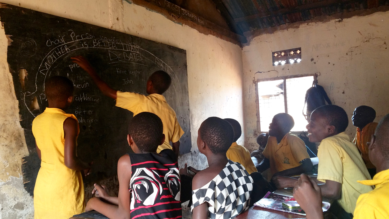 Every year of sponsorship, you will receive a photo card of the teacher, complete with a short biography and information about the school they teach at, and at least four letters written by the teacher providing updates on their class, what they are teaching, and what they have been able to purchase to help their students thrive.